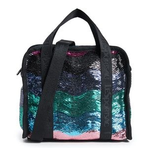 NWT LeSportsac Gabrielle Sequin Crossbody Bag